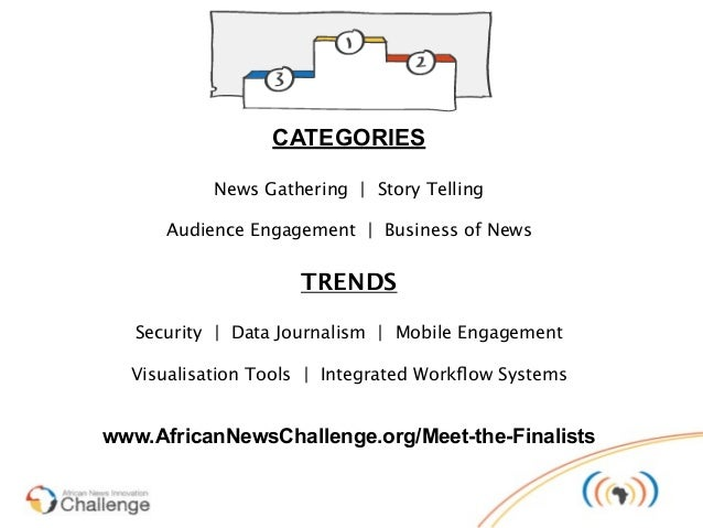 120 pioneers, from 40 ANIC finalist projects  + 10 WAN-IFRA mobile news projects     + 10 civic technology initiatives