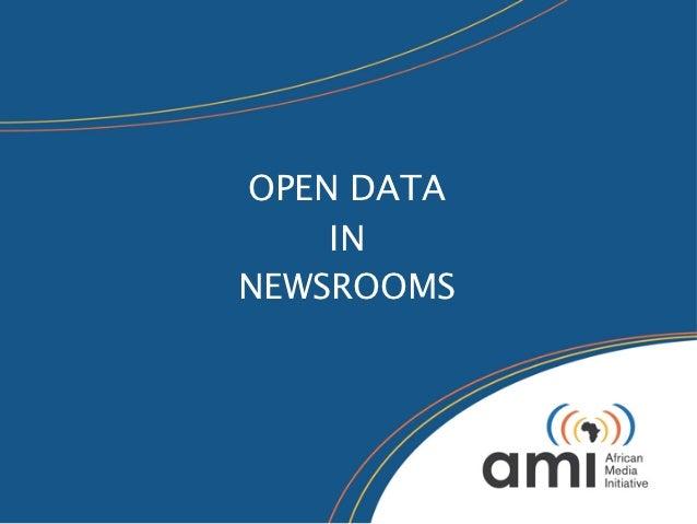 OPEN DATA    INNEWSROOMS