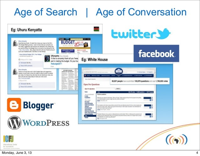 Age of Search | Age of Conversation4Monday, June 3, 13
