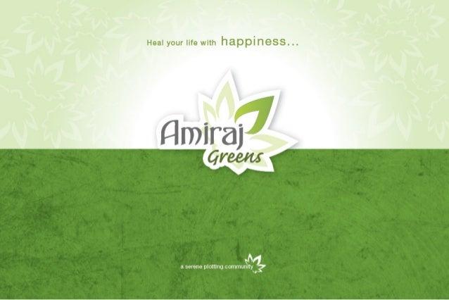 Amiraj greens brochure