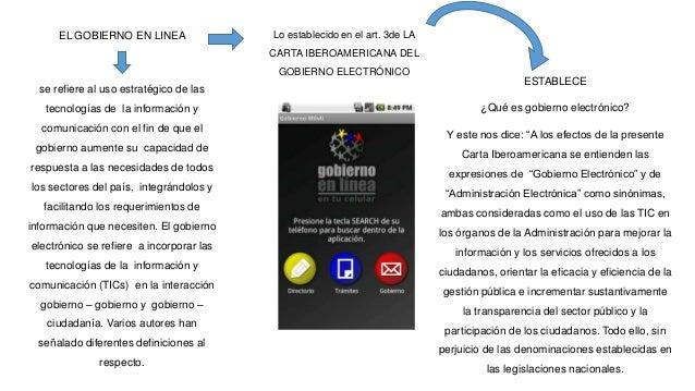 Objetivos del Gobierno Electrónico en Venezuela el objetivo fundamental del gobierno electrónico en Venezuela es apoyar la...