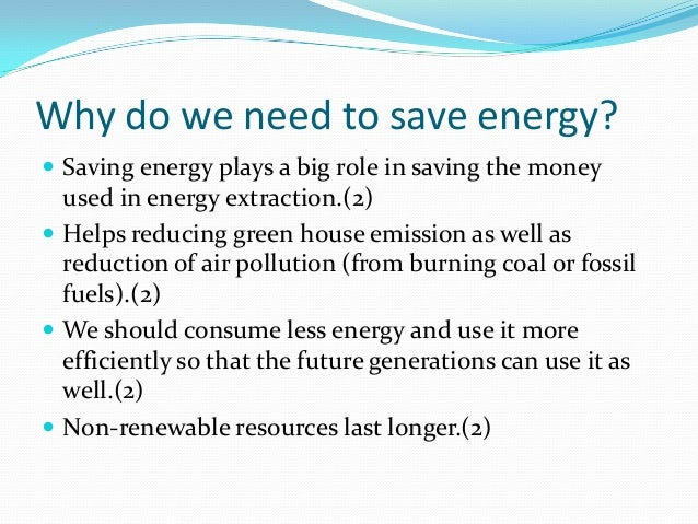 How to save energy in Existing Buildings