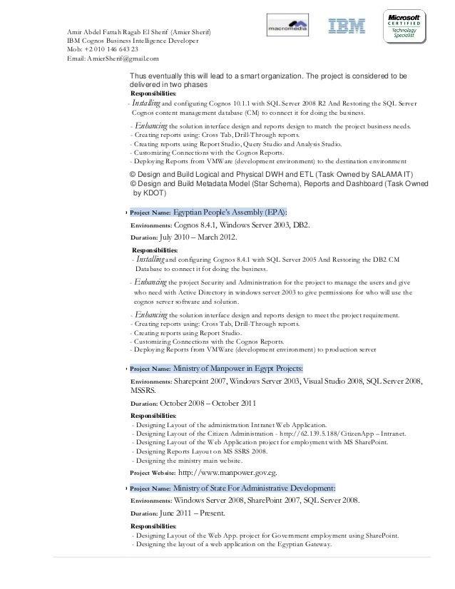 Ssrs Sample Resume | Resume CV Cover Letter