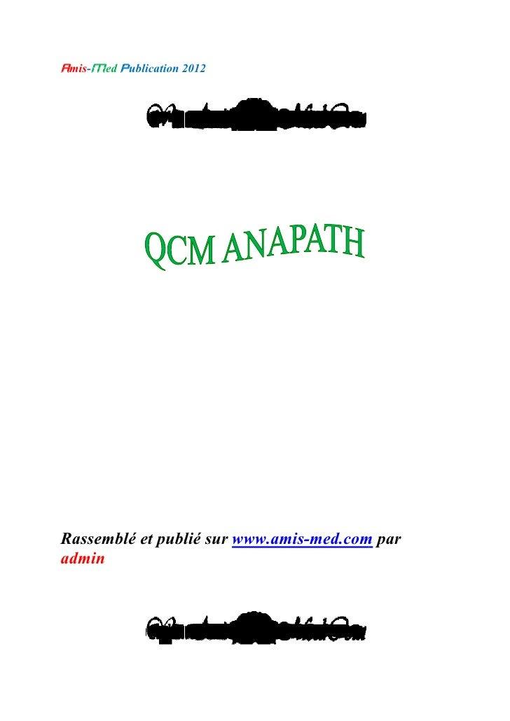 amis-med publication 201                     2012Rassemblé et publié sur www.amis-med.com par                             ...