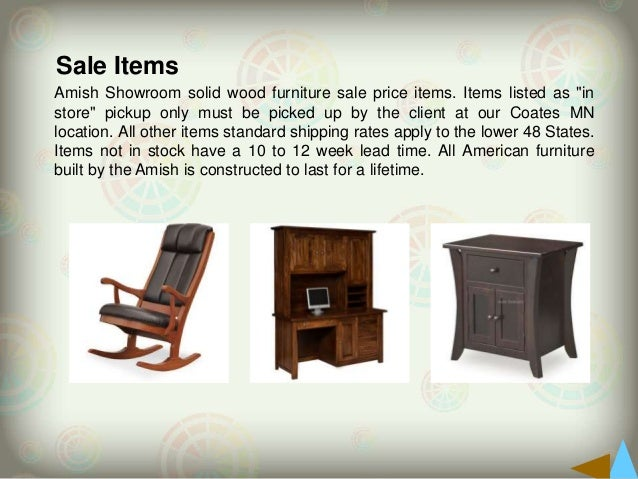 Amish Furniture For Sale Www Amishshowroom Com