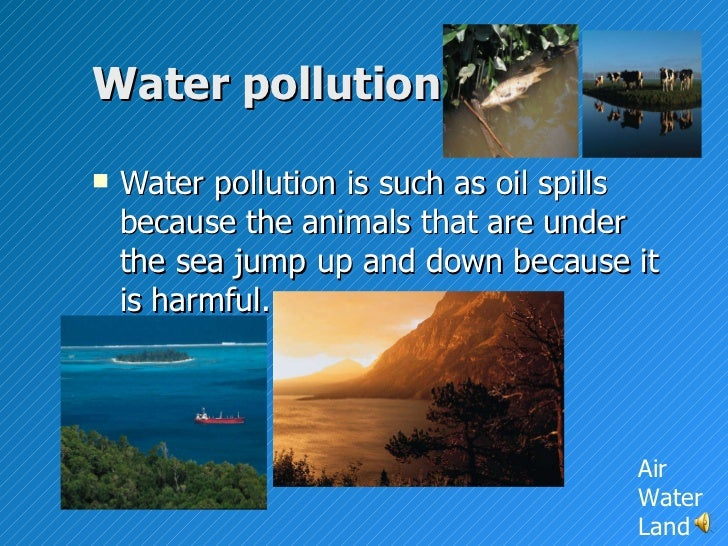 Environmental (Air, Water and Soil/Land) Pollution