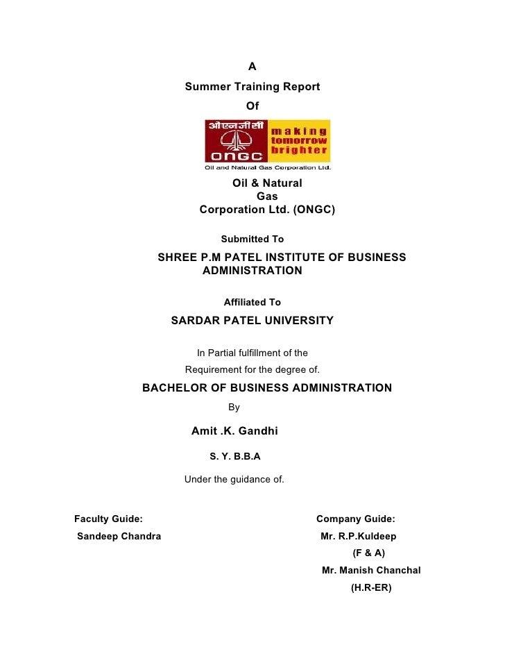ongc dissertation 2016