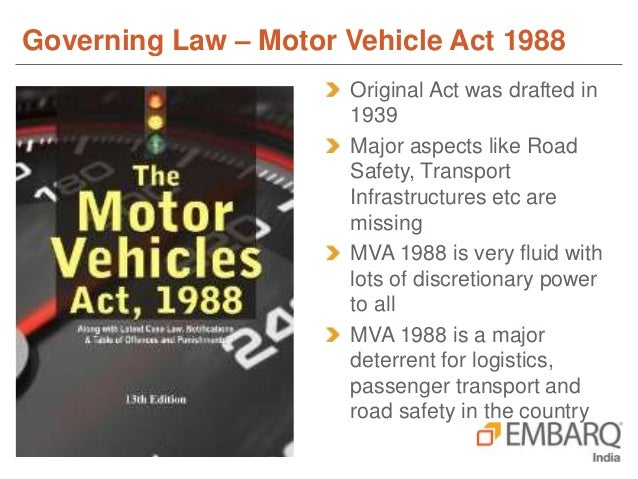 Session 5 1 Road Transport Safety Bill And Its Impact On Public T