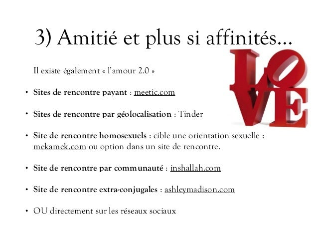 Les sites de rencontres payants