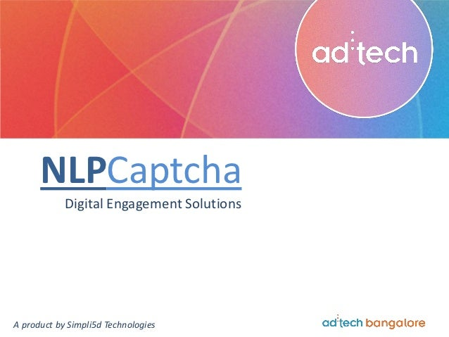 Amit Mittal on NLP Captcha at ad:tech Bangalore
