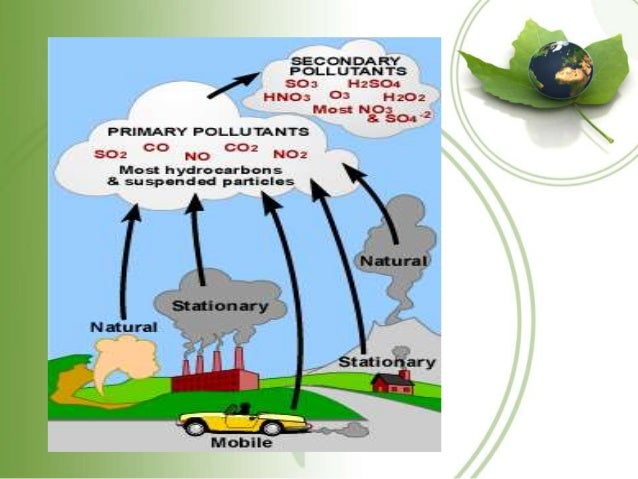 essay air pollution causes effects