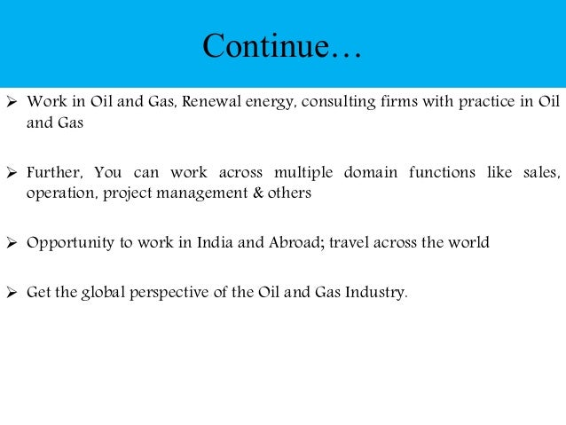 Amity Distance MBA in Petroleum and Natural Gas Management