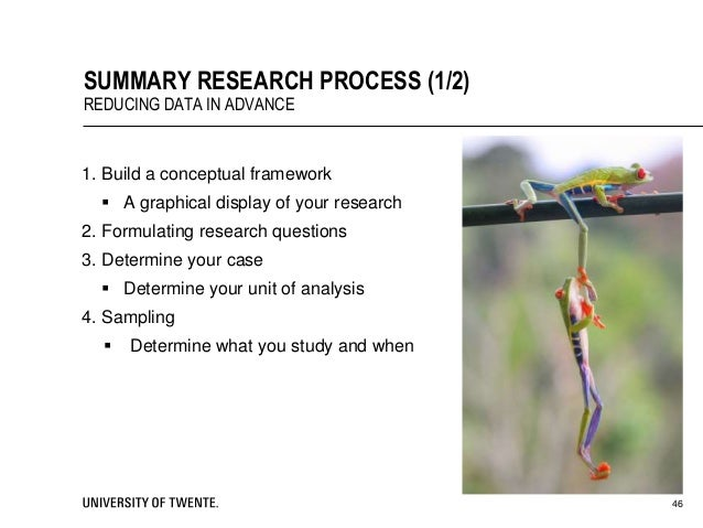 Study signature analysis methods