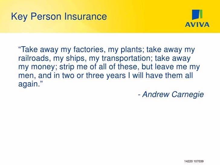 Business Insurance Key Person