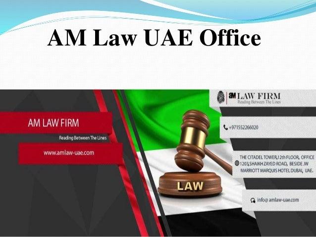 AM Law UAE Office