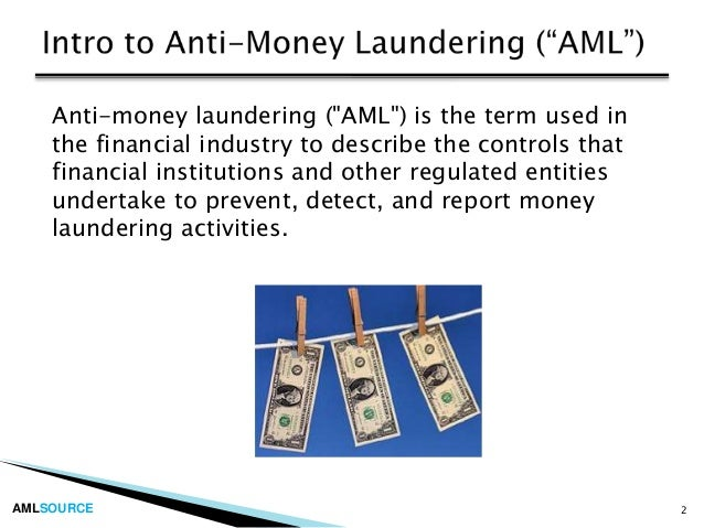 the financial accounting for financial services assignment and money laundering Bsa & aml executive briefing chair of the firm's anti-money laundering/financial crime and with more than 10 years serving the financial services.