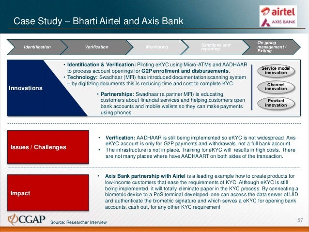 case study examples banking
