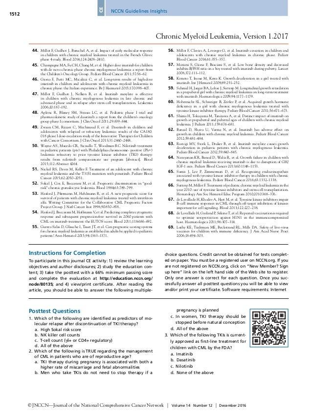 national comprehensive cancer network nccn guidelines