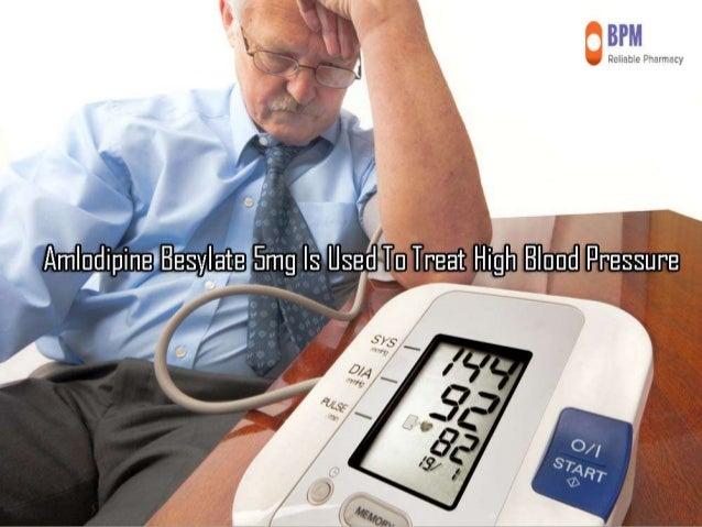 Norvasc 5 Mg High Blood Pressure