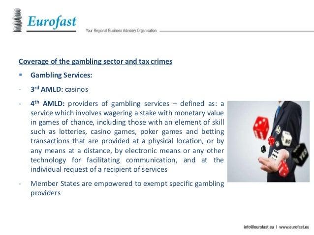 Eu gambling directive gambling/games