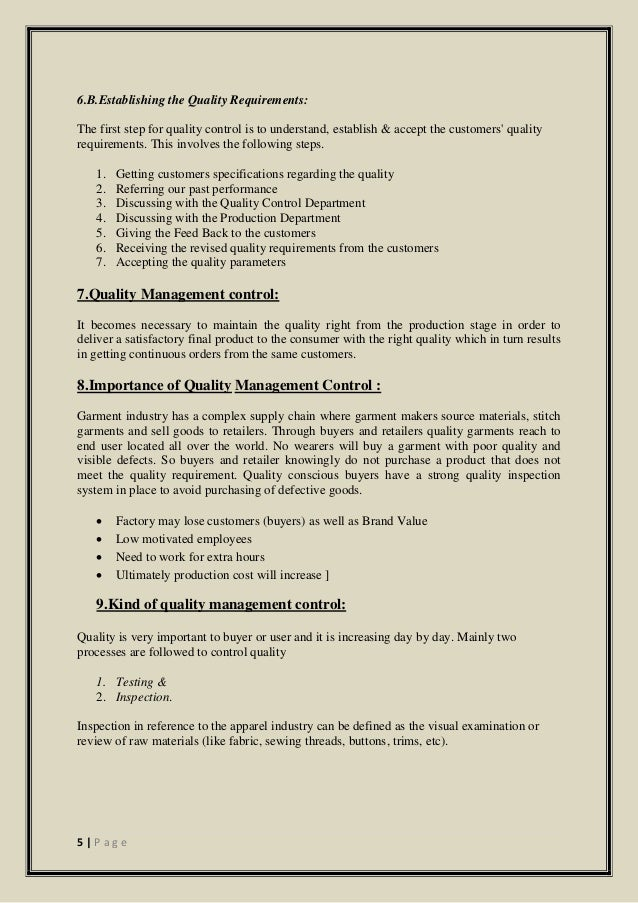 Sample Room Process in Garment Industry