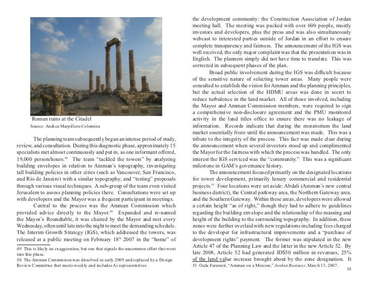 the development community: the Construction Association of Jordan                                                         ...
