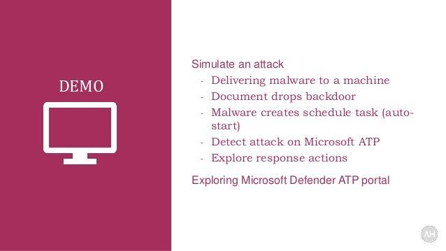 Windows Defender Atp Portal