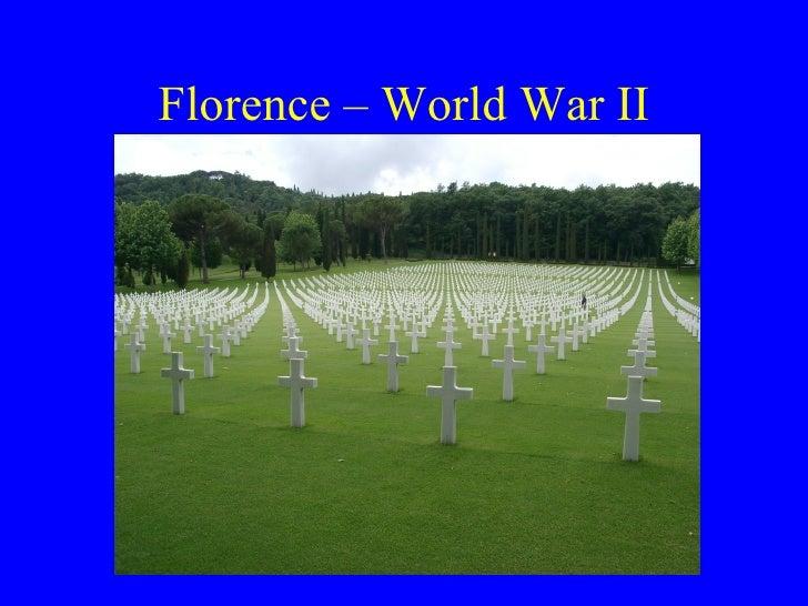 Florence – World War II