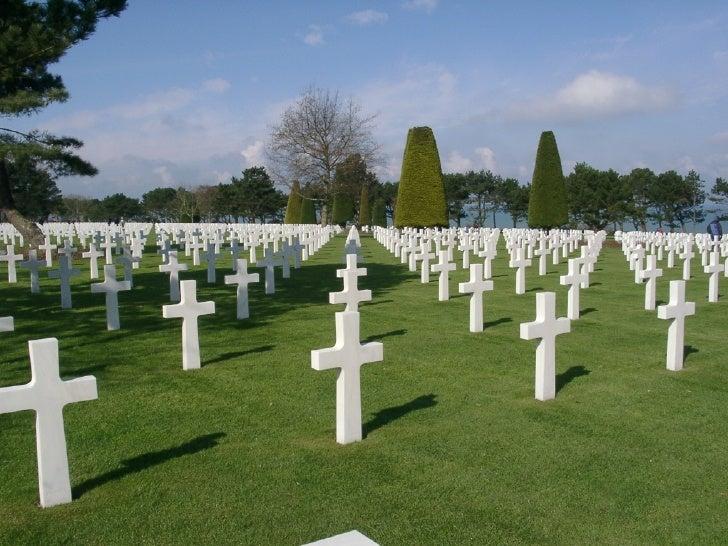American Military Cemeteries - Europe Slide 3