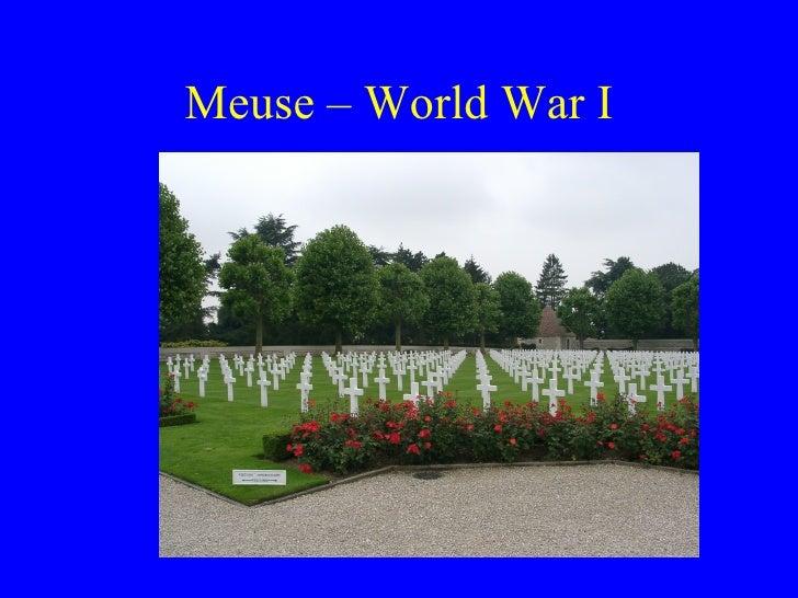 Meuse – World War I