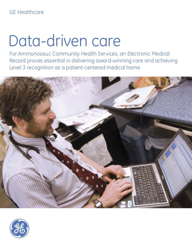 Data-driven careFor Ammonoosuc Community Health Services, an Electronic MedicalRecord proves essential in delivering award...