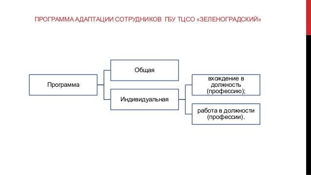 дипломная презентация по проекту совершенствования адаптации персонала 8 ПРОГРАММА АДАПТАЦИИ