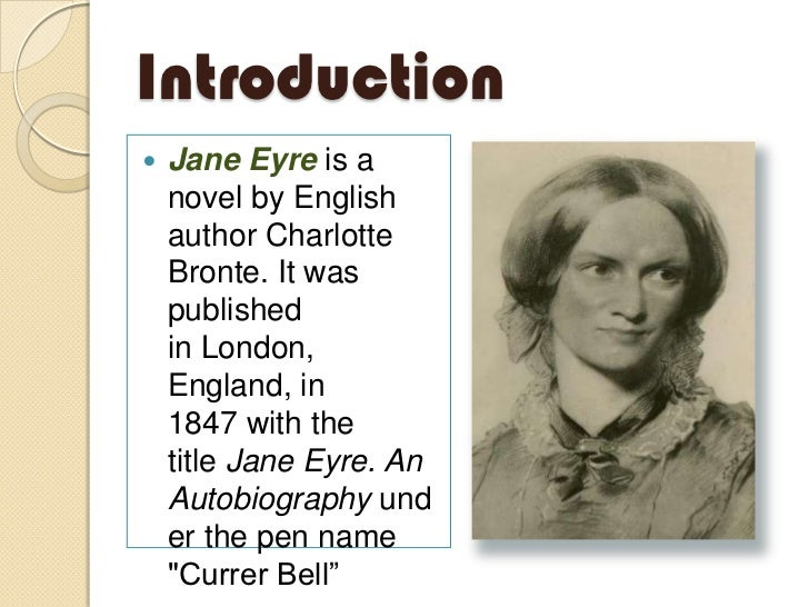 charlotte brontes jane eyre essay Essay writing guide  charlotte bronte's style in jane eyre charlotte bronte's style of writing is distinctively her own  'jane eyre' by charlotte bronte.