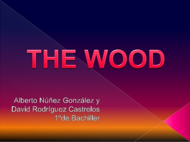  The wood is the place outside the town where the laws don´t apply. when the young lovers arrive there,rules change and s...