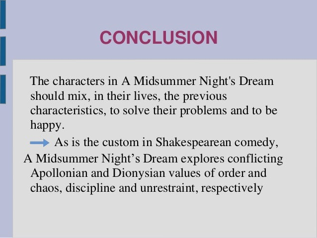 midsummer nights dream essay titles