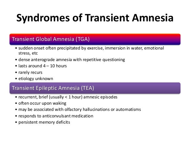 amnestic disorder In dsm-iii, this category is a disorder called amnestic syndrome a both short-term memory impairment (inability to learn new information) and long-term memory impairment (inability to remember information that was known in.