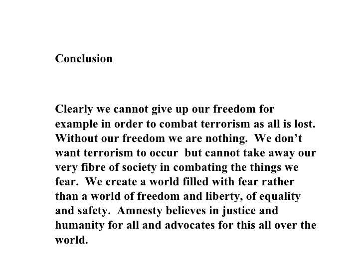 amnesty speech introduction to amnesty