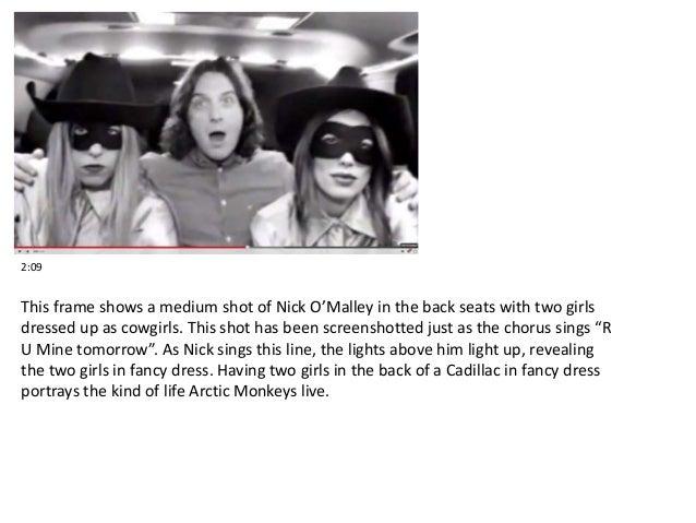Arctic monkeys songwriting analysis synonym