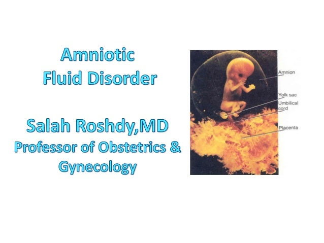 Learning Objectives• Character of A.F• Functions of A.F• Oligo-Poly-Hydramnios   Definition   Etiology   Diagnosis   Treat...