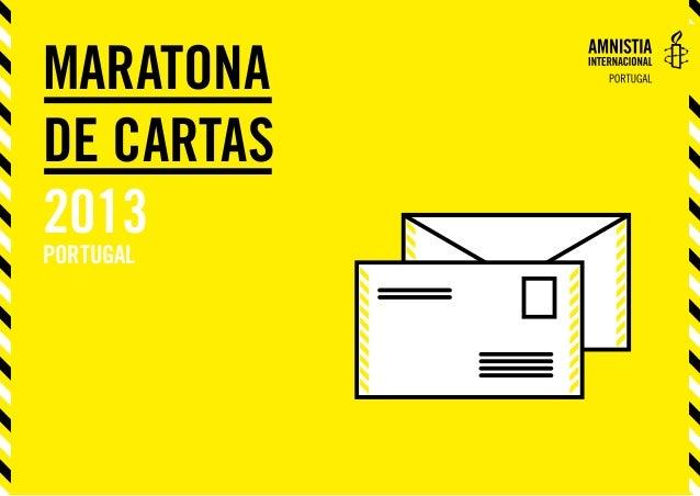 Maratona de Cartas 2013 portugal