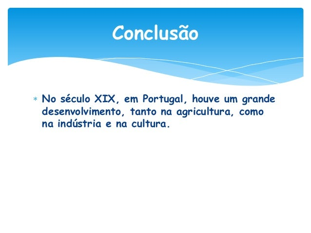 A modernização de Portugal na 2ª metade séc. XIX - trabalho de Beatriz, 6ºG