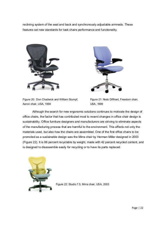 ergonomic office chair for
