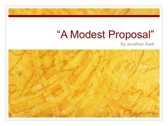 a modest proposal full text