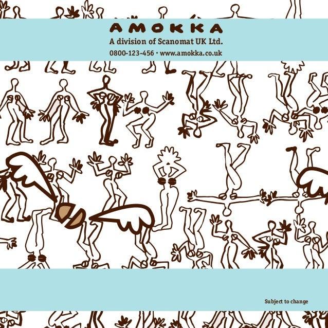 Amokka Brochure from Scanomat UK