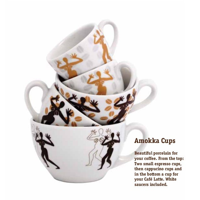 Amokka glasses The classic Amokka glass can comfortably and stylishly be used for both warm and cold. It comes in three si...