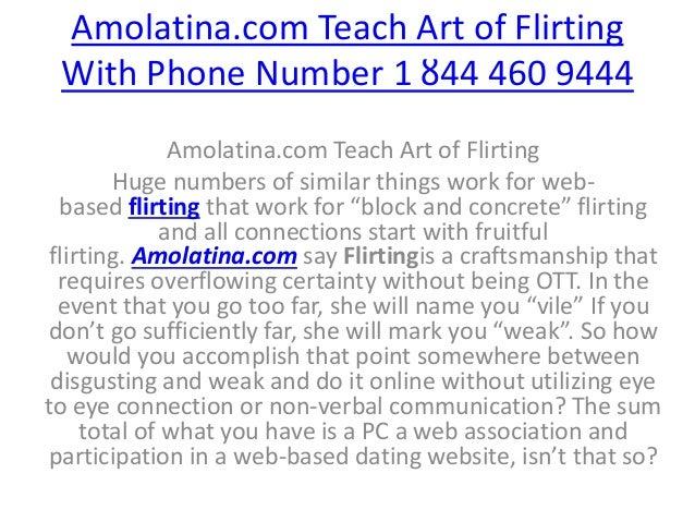 flirt phone number