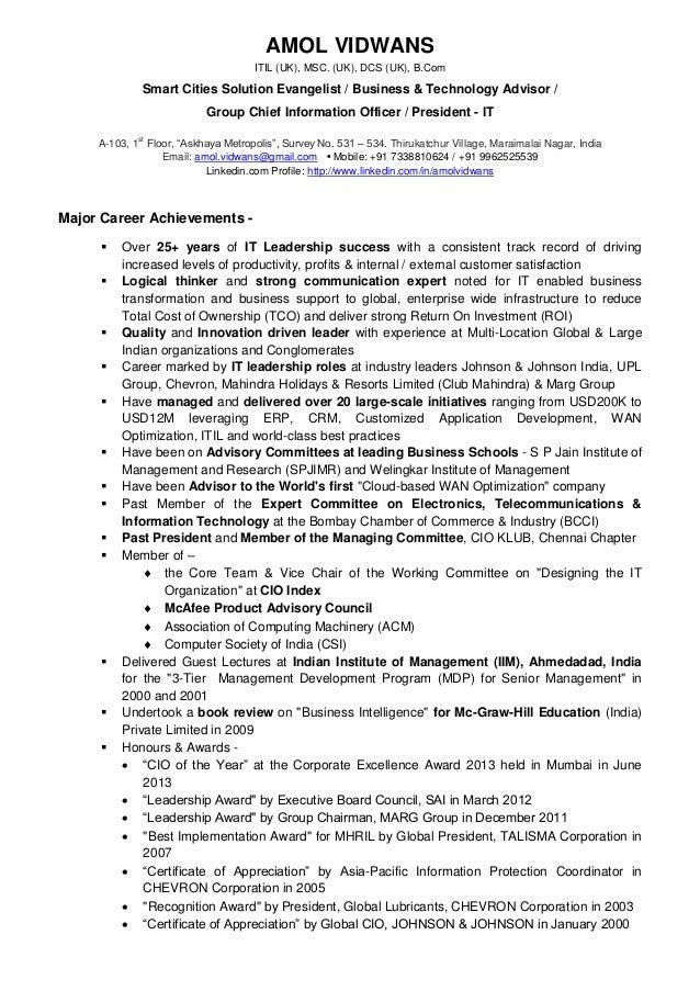Professional & Achievement Details