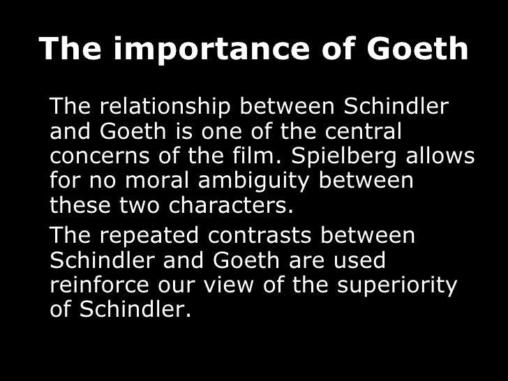 schindler goeth relationship quiz