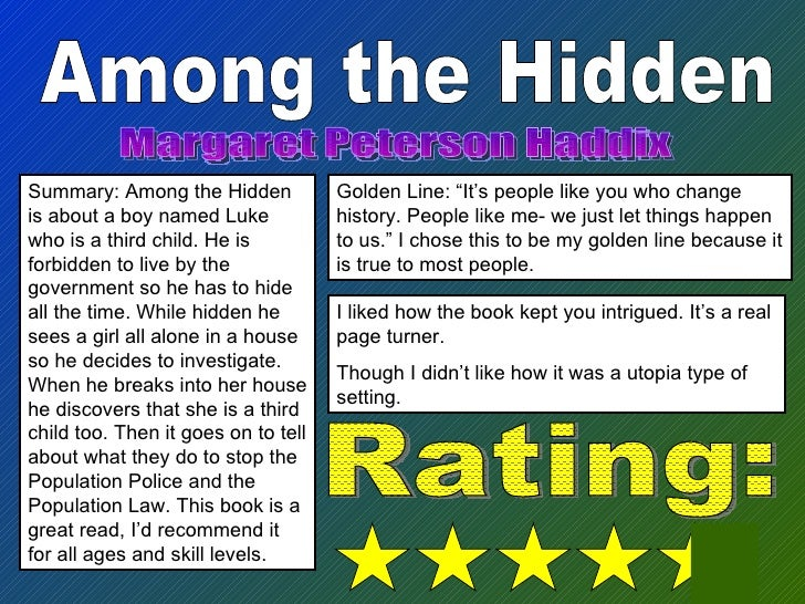 Among The Hidden Summary