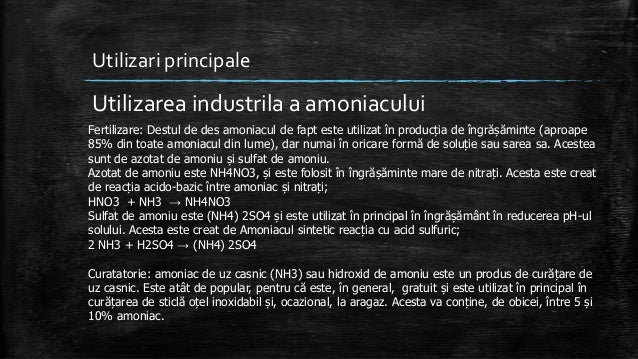 Amoniacul